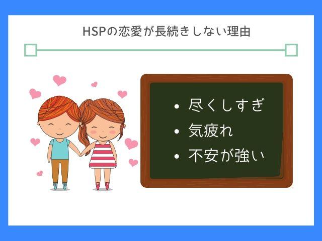 HSPは恋愛でも繊細