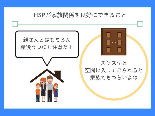 HSPは家族と一緒でもストレスになる