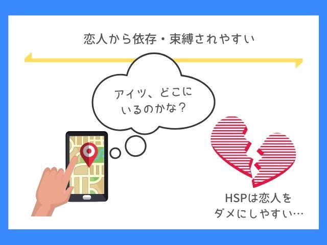 HSPは恋人から都合よく使われやすい