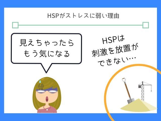 HSPは見た瞬間に刺激を受けている