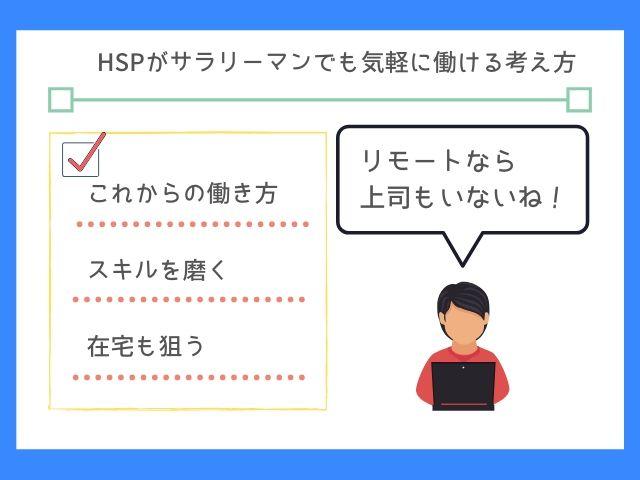 HSPはこれからの働き方に挑戦しよう