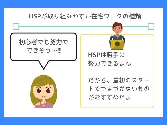 HSPは一歩踏み出しやすい在宅ワークに挑戦しよう