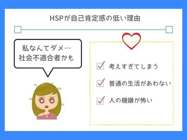 HSPは人との関りで自信を失ってしまう