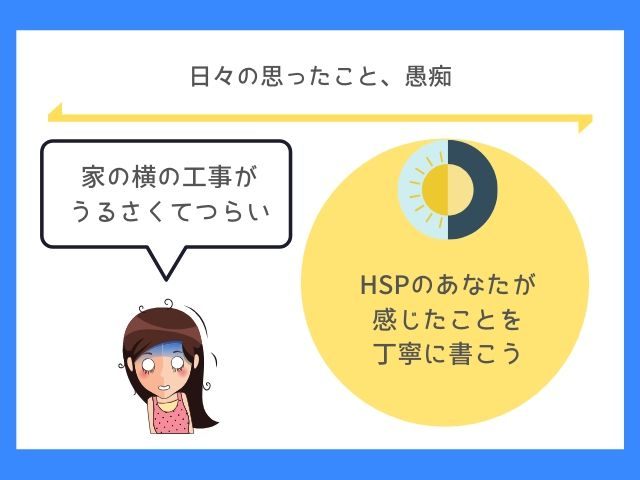 HSPはHSPの日常が気になるよ