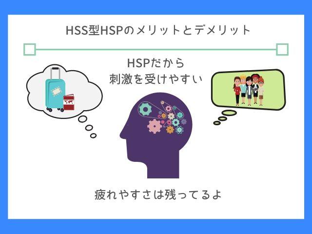 HSS型HSPは行動的で疲れやすい