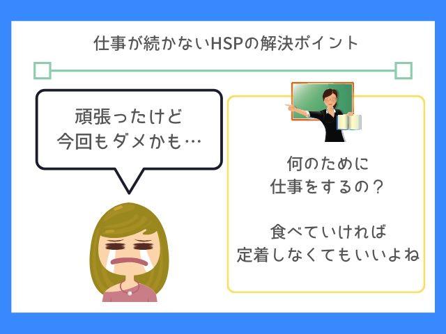 HSPは仕事の考え方を変えよう