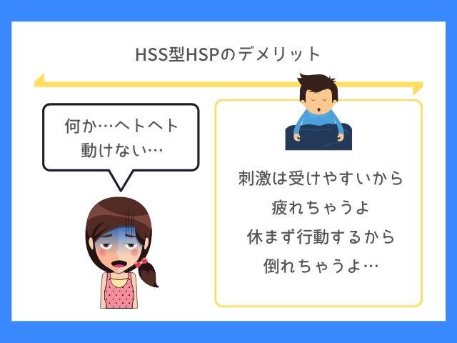 HSS型HSPはHSP以上に疲れやすい