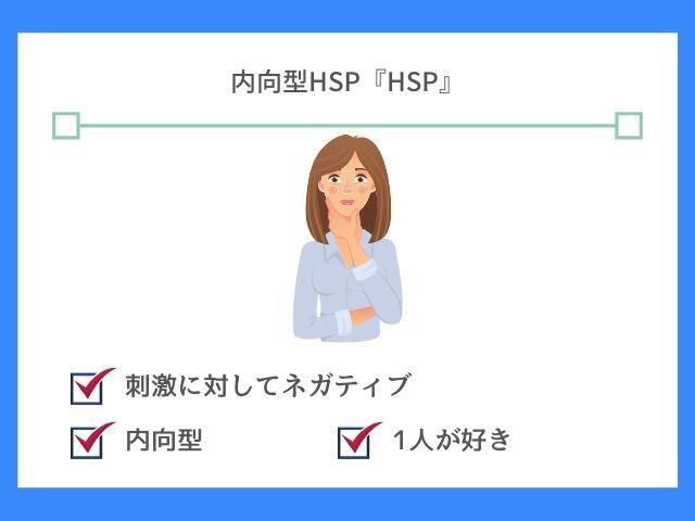 内向型HSPはもっとも基本的なHSP