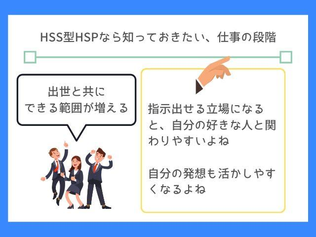 HSS型HSPは仕事が面白くなる段階も考えよう
