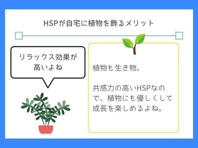 HSPは植物が友達になる