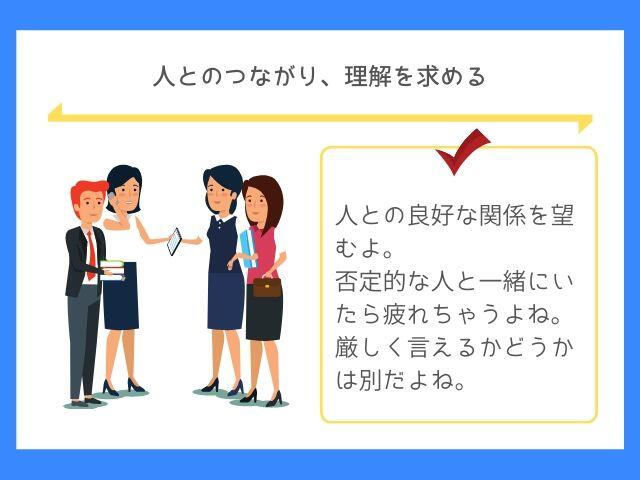 HSEの人間関係は協力関係を望む