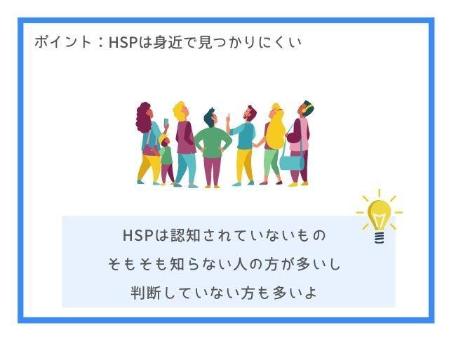 HSPはまだ認知されていない