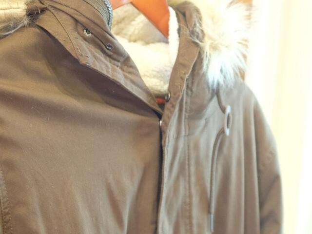 会員限定セールで買ったモッズコート