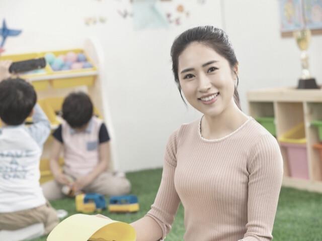 幼稚園教諭を夢にしていた